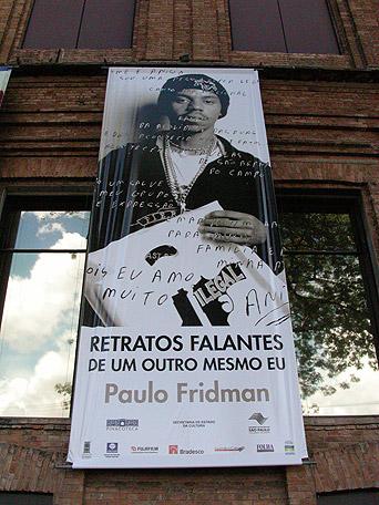 Poster externo - Pinacoteca, São Paulo, Brasil