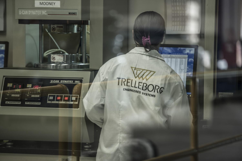Relatório Anual da Trelleborg, Suécia, Trelleborg Santana do Parnaíba Brasil.