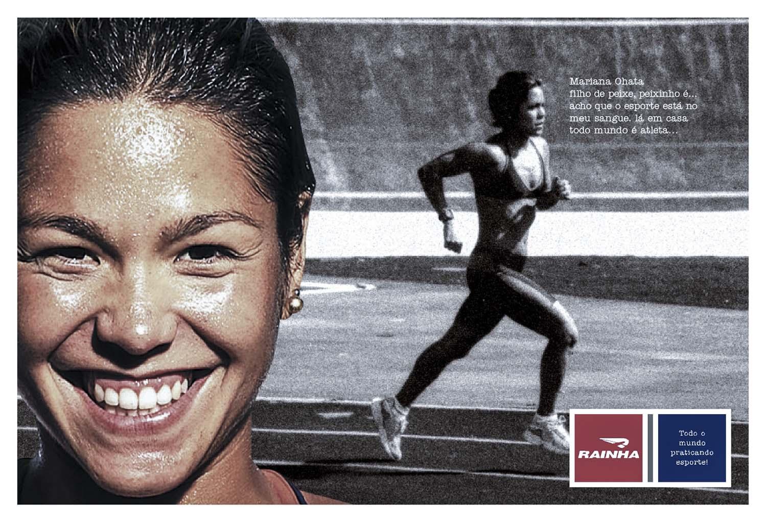Campanha de publicidade Cliente Rainha