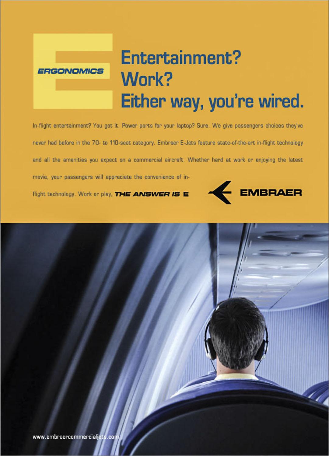 EMBRAER Ad Campaign