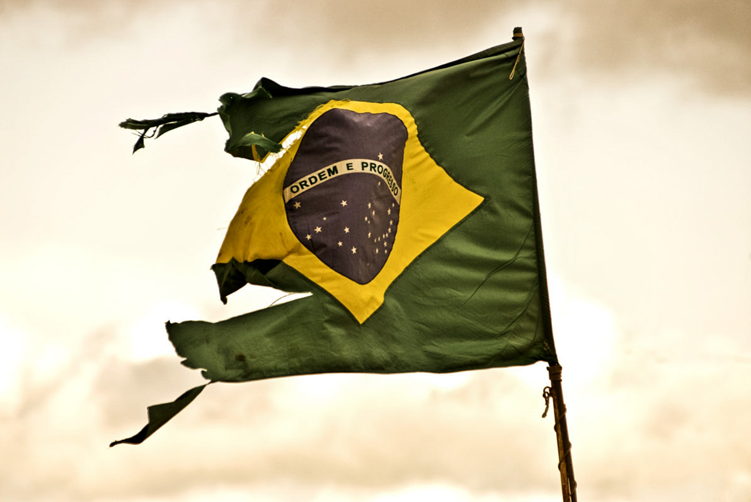 Brazilian Flag, Brasilia.