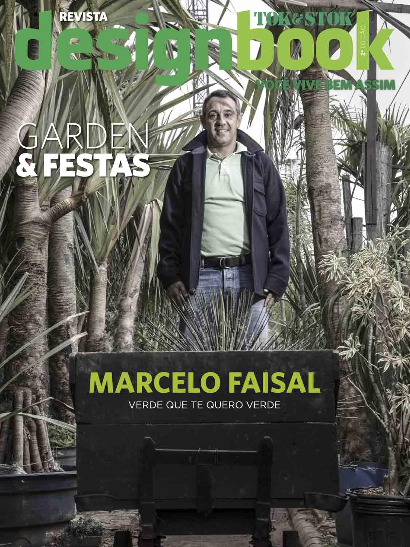 Design Book Magazine, Marcelo Faisal, garden designer.
