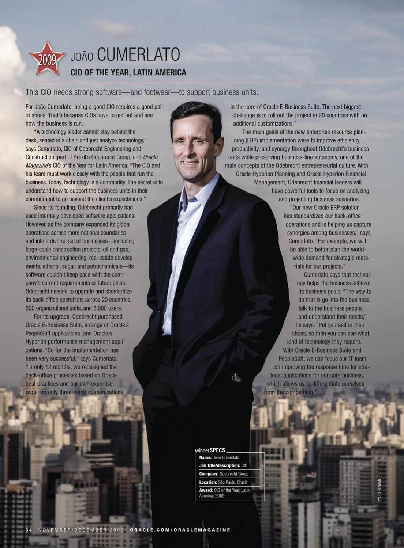 Oracle awards Oracle Profit magazine