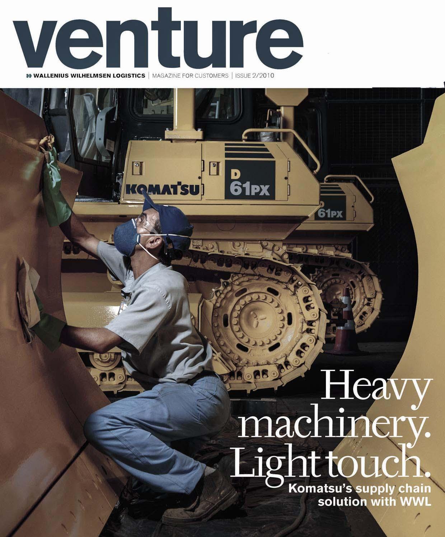 WWL- Wallenius Wilhelmsen Logistics- Venture Magazine